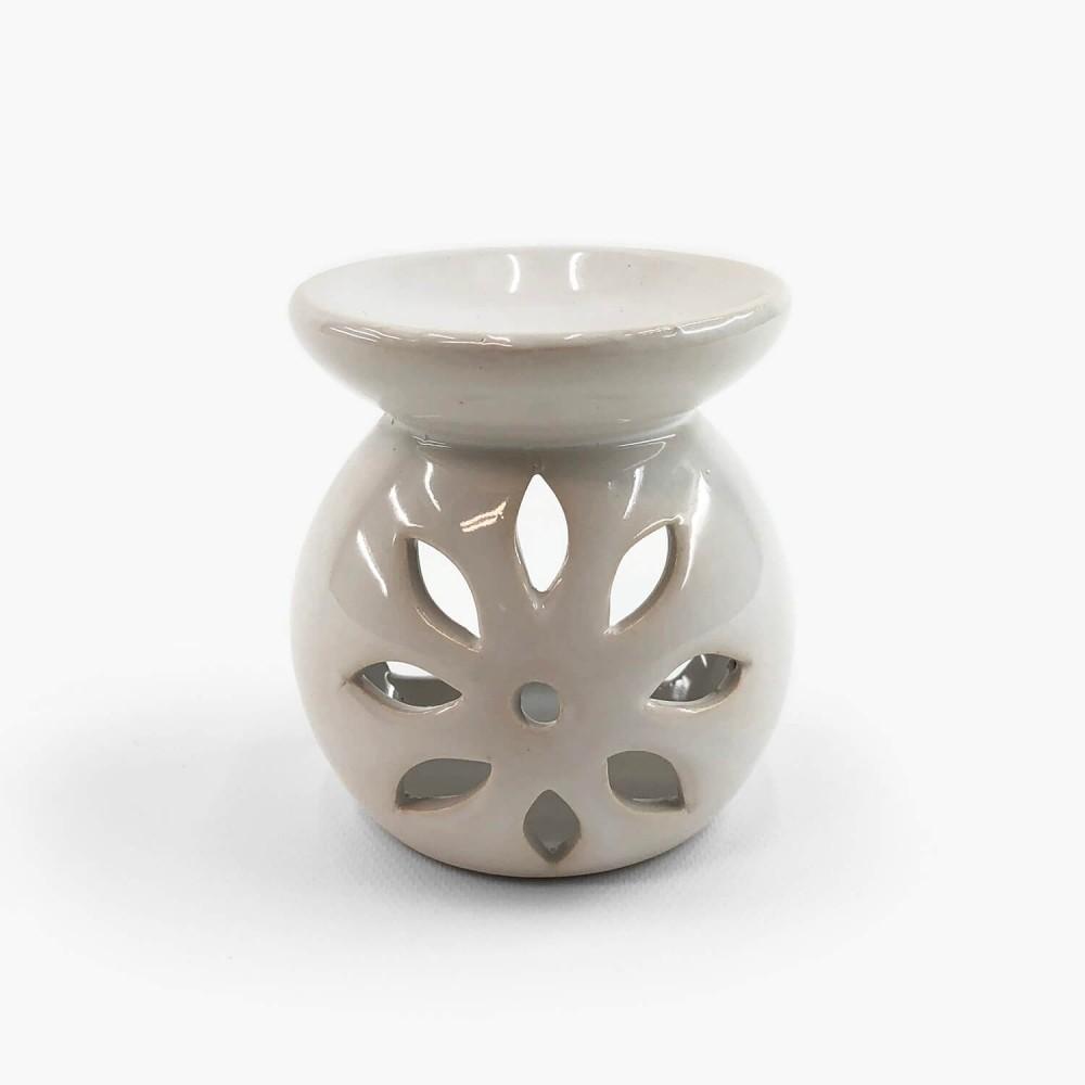 Difusor Rechaud Cerâmica Mandala 8cm - Foto 1