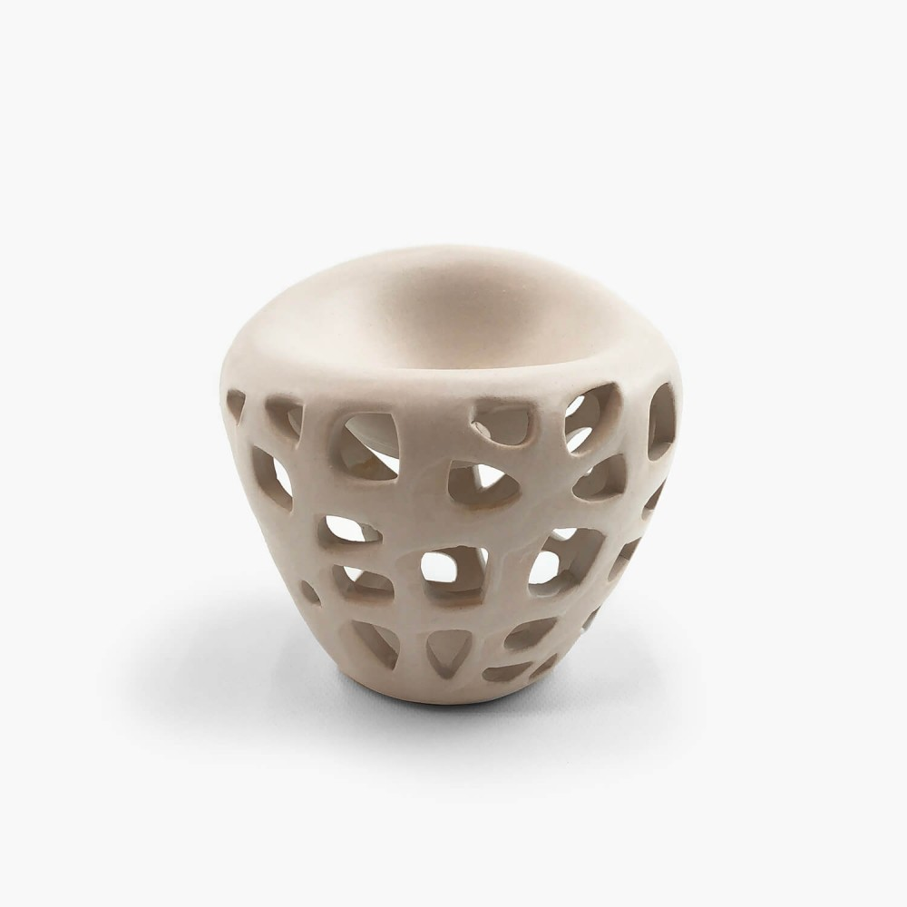 Difusor Rechaud Cerâmica 9,5cm - Foto 4