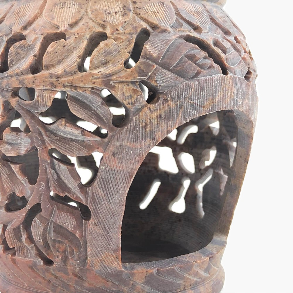 Difusor Rechaud Pedra Sabão 12cm - Foto 2