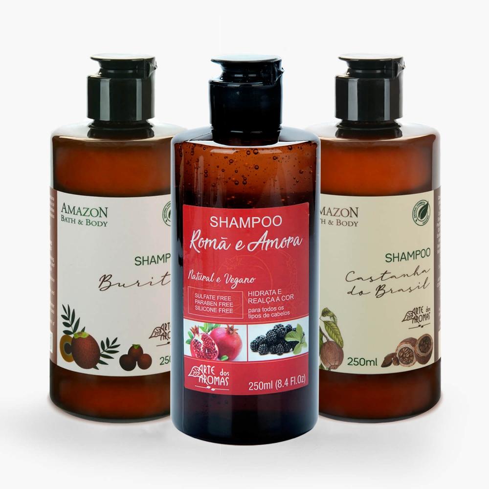 Shampoo 250ml Arte dos Aromas - Foto 1