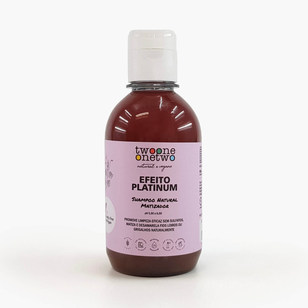 Shampoo Efeito Platinum - Foto 1