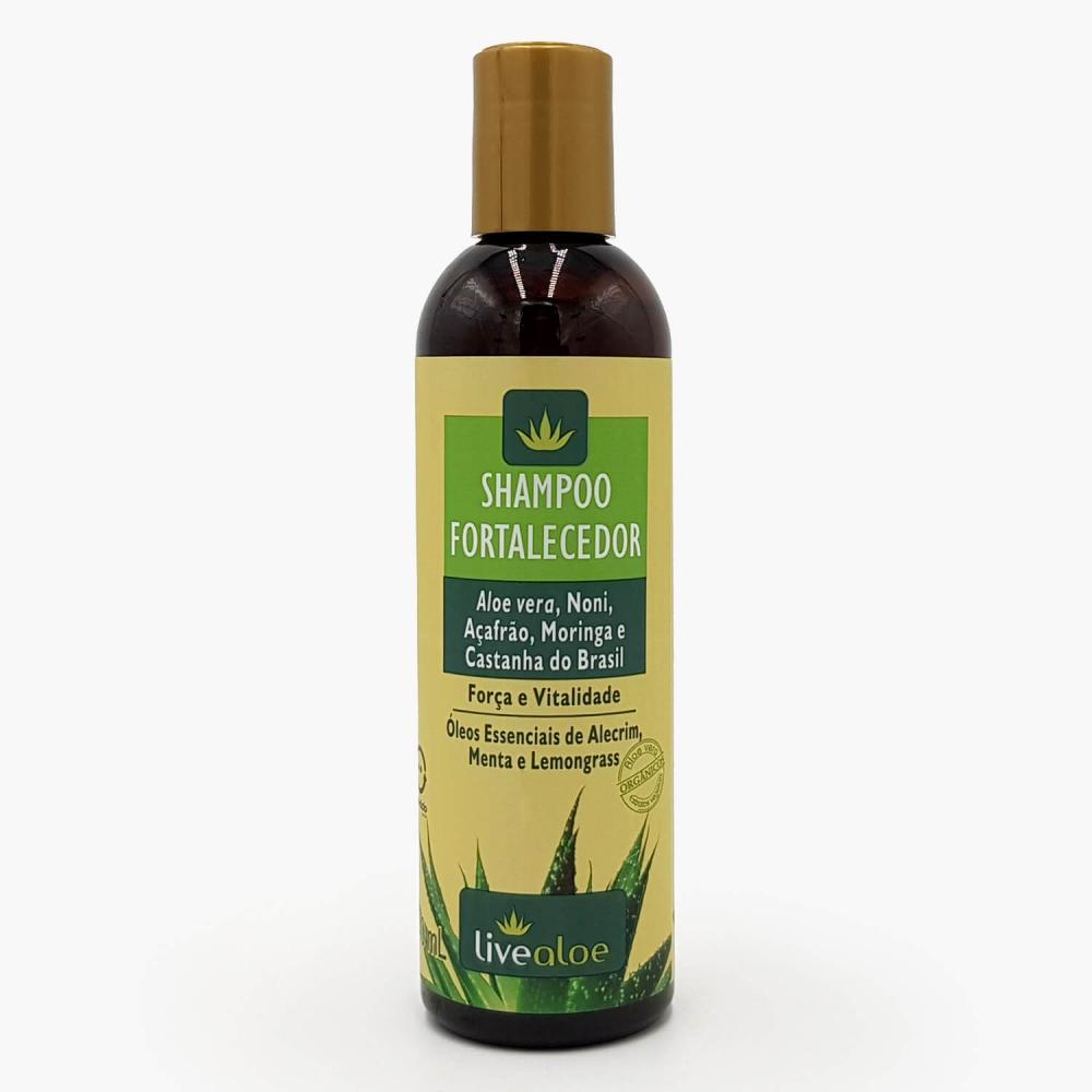 Shampoo Fortalecedor Livealoe - Foto 1