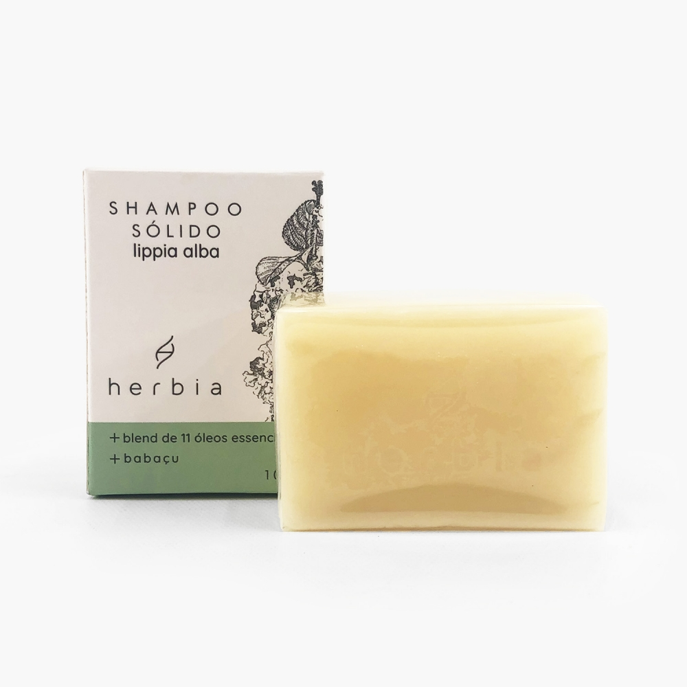 Shampoo sólido lippia alba - 100g - Foto 1