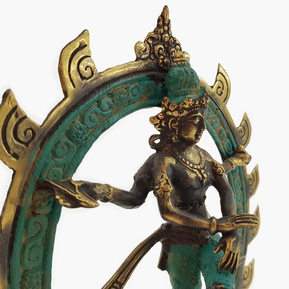 Shiva Nataraja 24,5cm - Foto 3