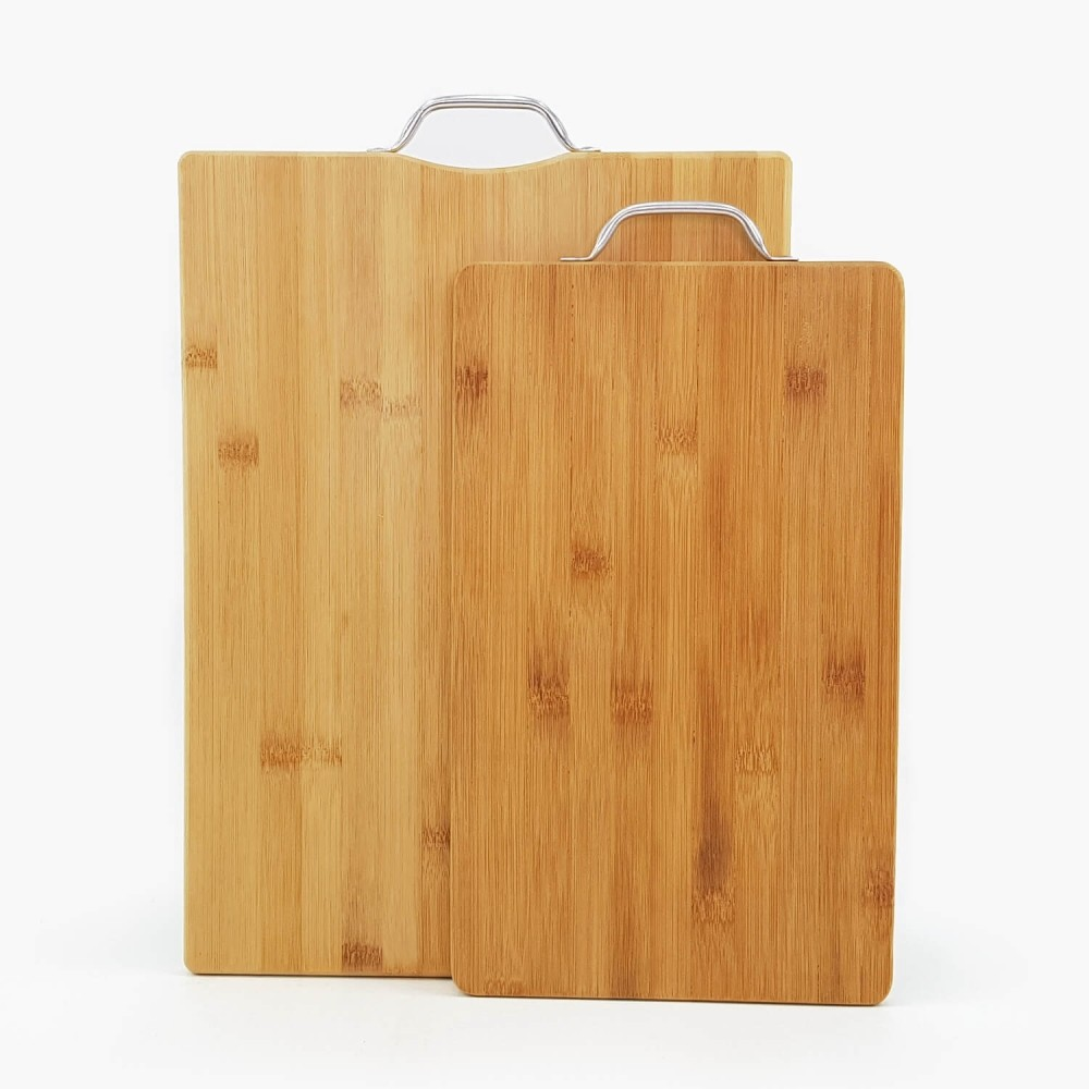 Tábua de Bambu c/ alça de metal  - Foto 1