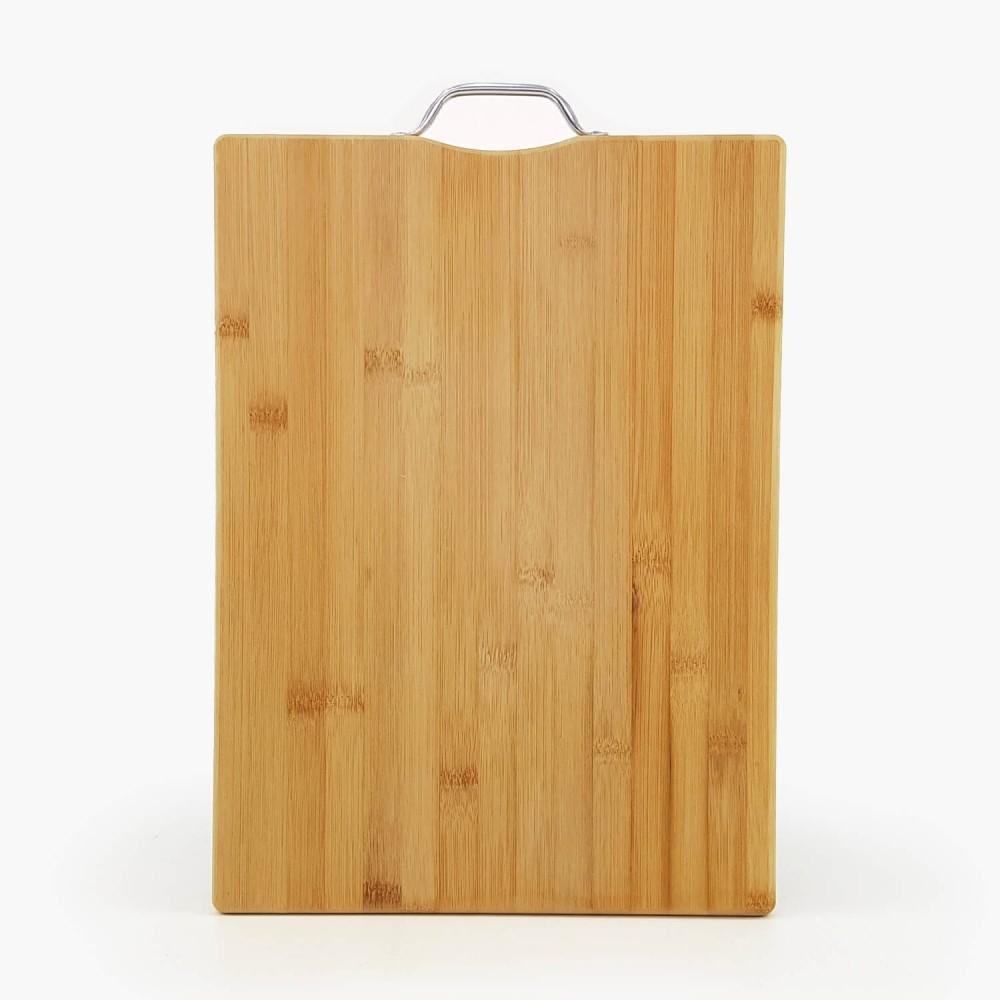 Tábua de Bambu c/ alça de metal  - Foto 3