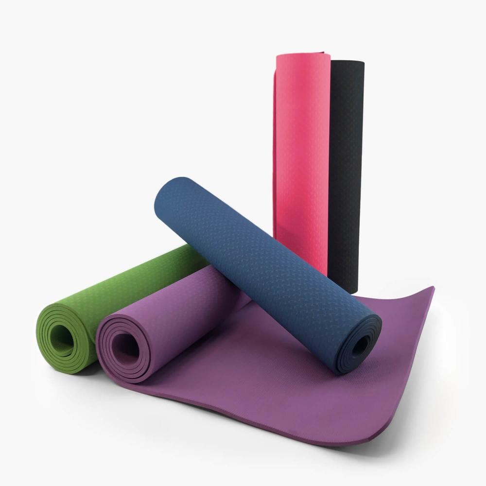 Tapete de Yoga Ecológico 6mm (TPE) - Foto 1