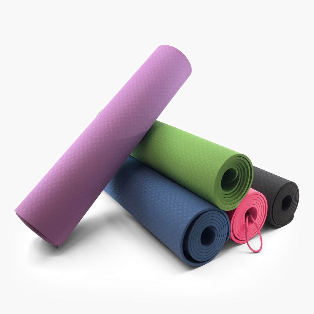 Tapete de Yoga Ecológico 6mm (TPE) - Foto 2