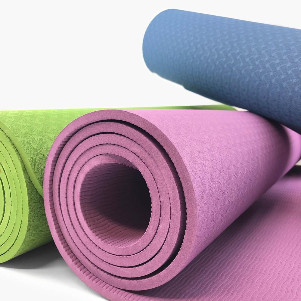 Tapete de Yoga Ecológico 6mm (TPE) - Foto 3