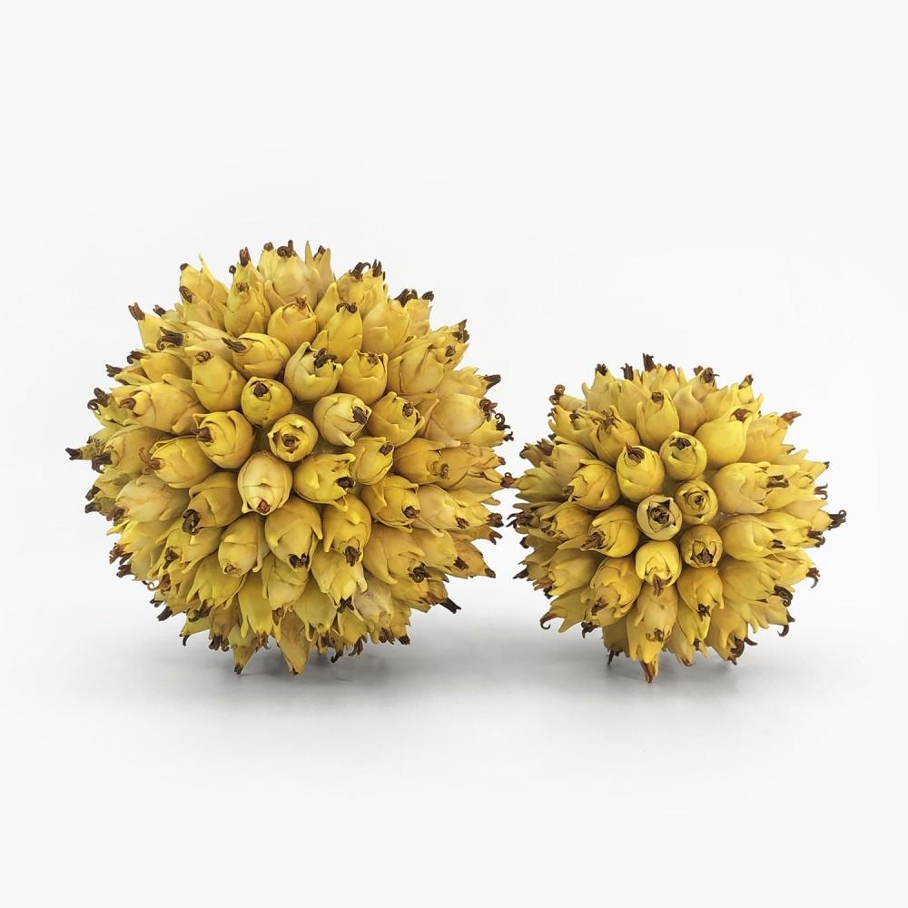 Topiaria Abacaxizinho Amarela - Foto 1
