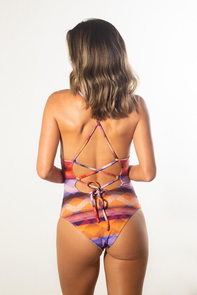Maiô/Body Marina Mosaico
