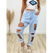 Calça Jeans Clara Destroyed