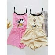 Pijamas Personagens  Snoopy