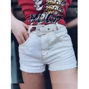 Short Jeans Off Maluky Fivela Metal