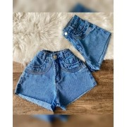 Short jeans Maluky Barra Laser
