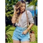 Short Jeans Maluky Cinto Fivela