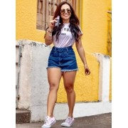Short Jeans Maluky Fivela Desfiado