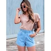 Short Jeans Maluky Fivela Laser