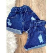 Short Jeans Maluky Fvela Destroyed