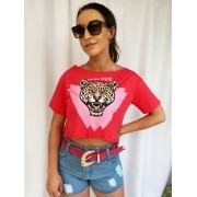 T-shirt Garota Show Tigre