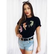 T-shirt Malha Tigres