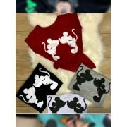 T Shirt Mickey Inverno apaixonado