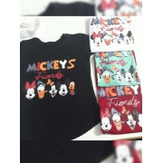 T Shirt Mickey Inverno Friends