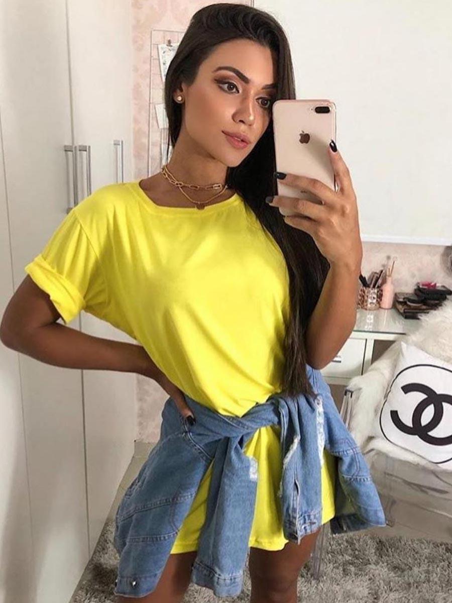 BLUSÃO MALHA