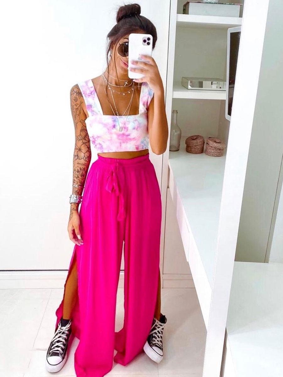 Calça Pantalona Colors
