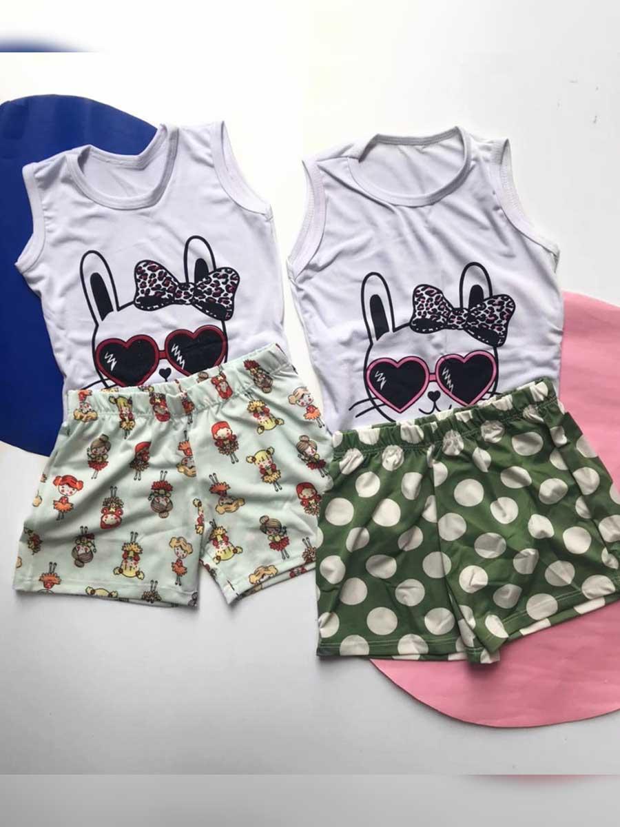 Conjunto Malha Bunny