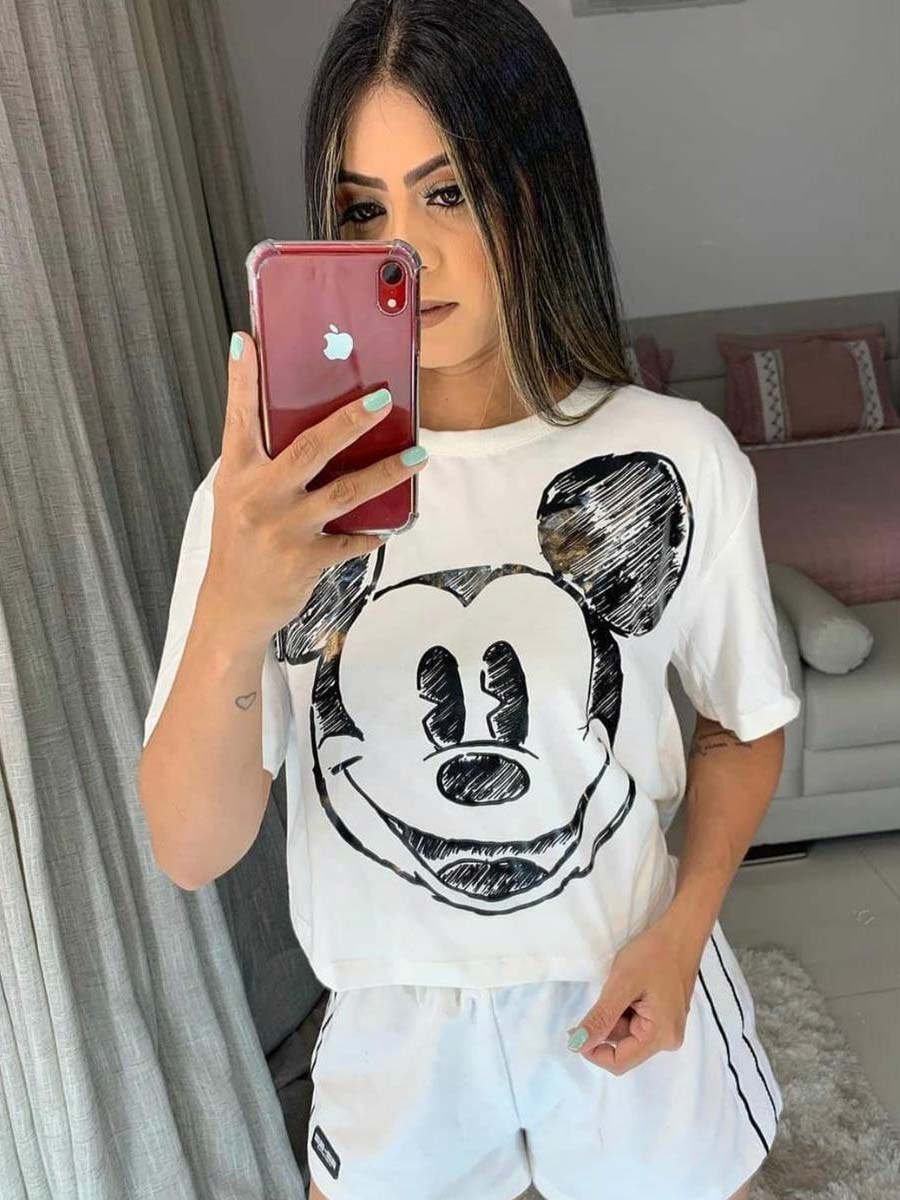 CROPPED MICKEY INVERNO