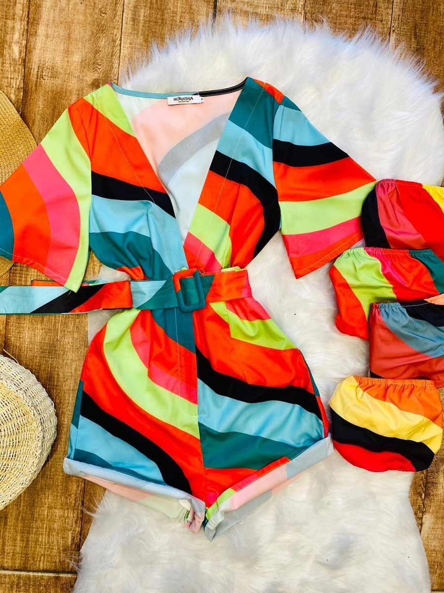 Macaquinho Color + Top