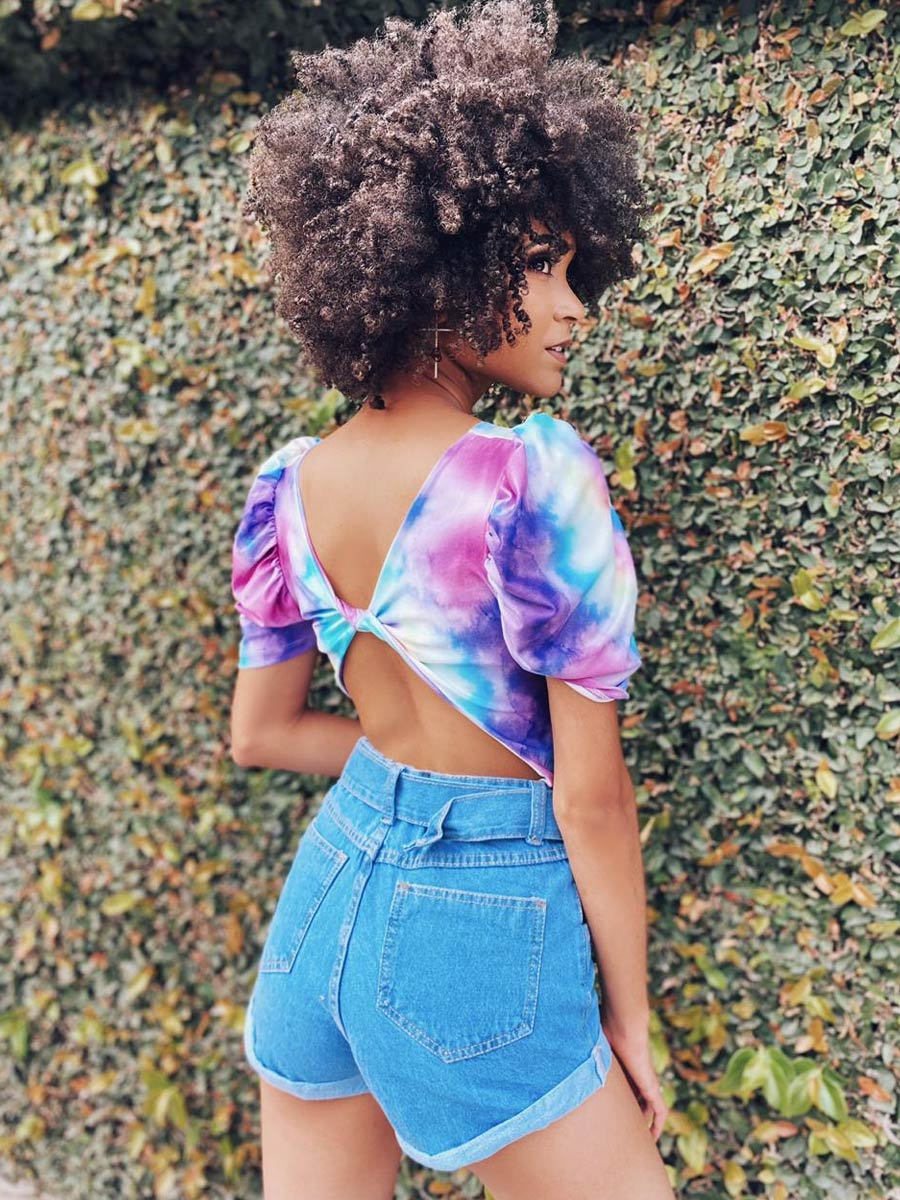 Short Jeans Fivela Maluky
