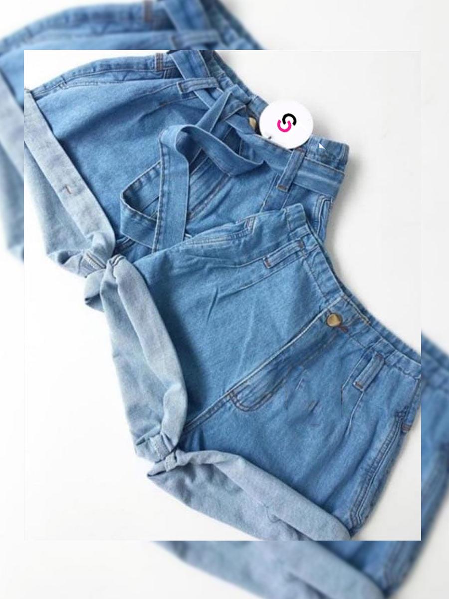 Short Jeans Maluky Claro