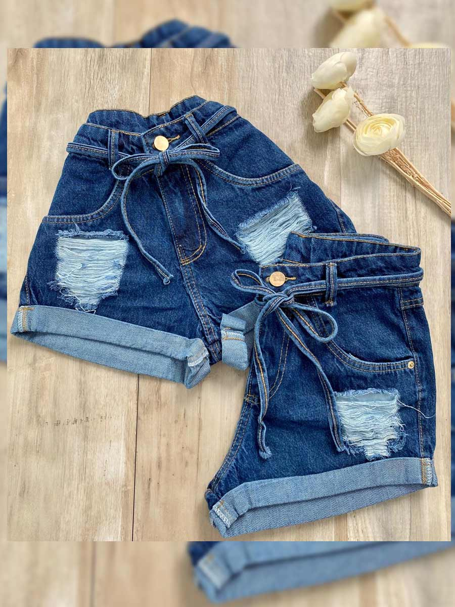 Short  Jeans Maluky Destroyed