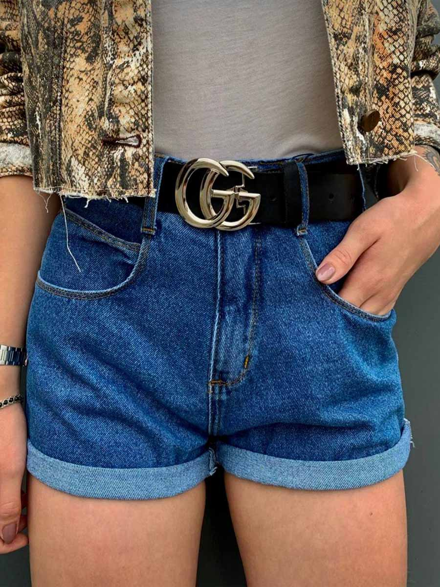 Short Jeans Maluky Simples