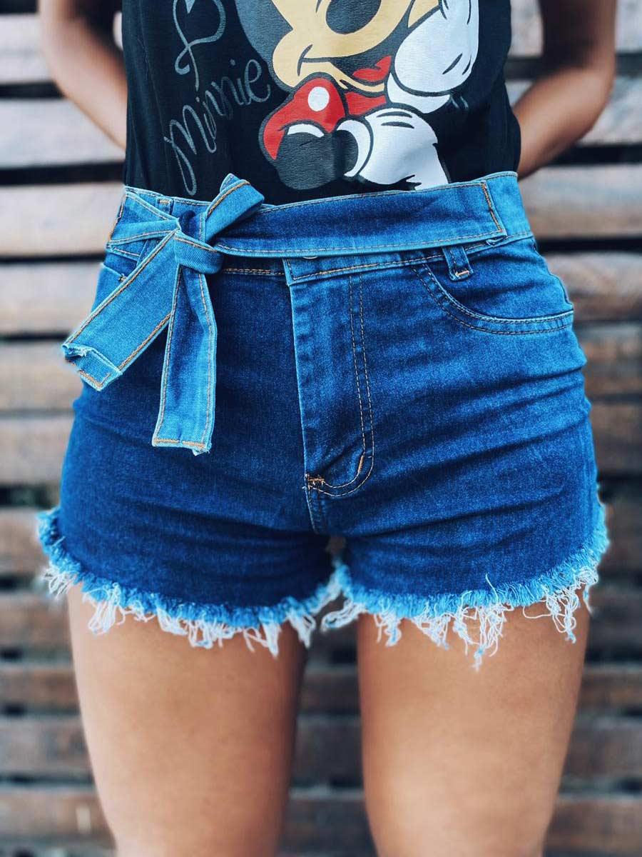 Short Jeans Midi