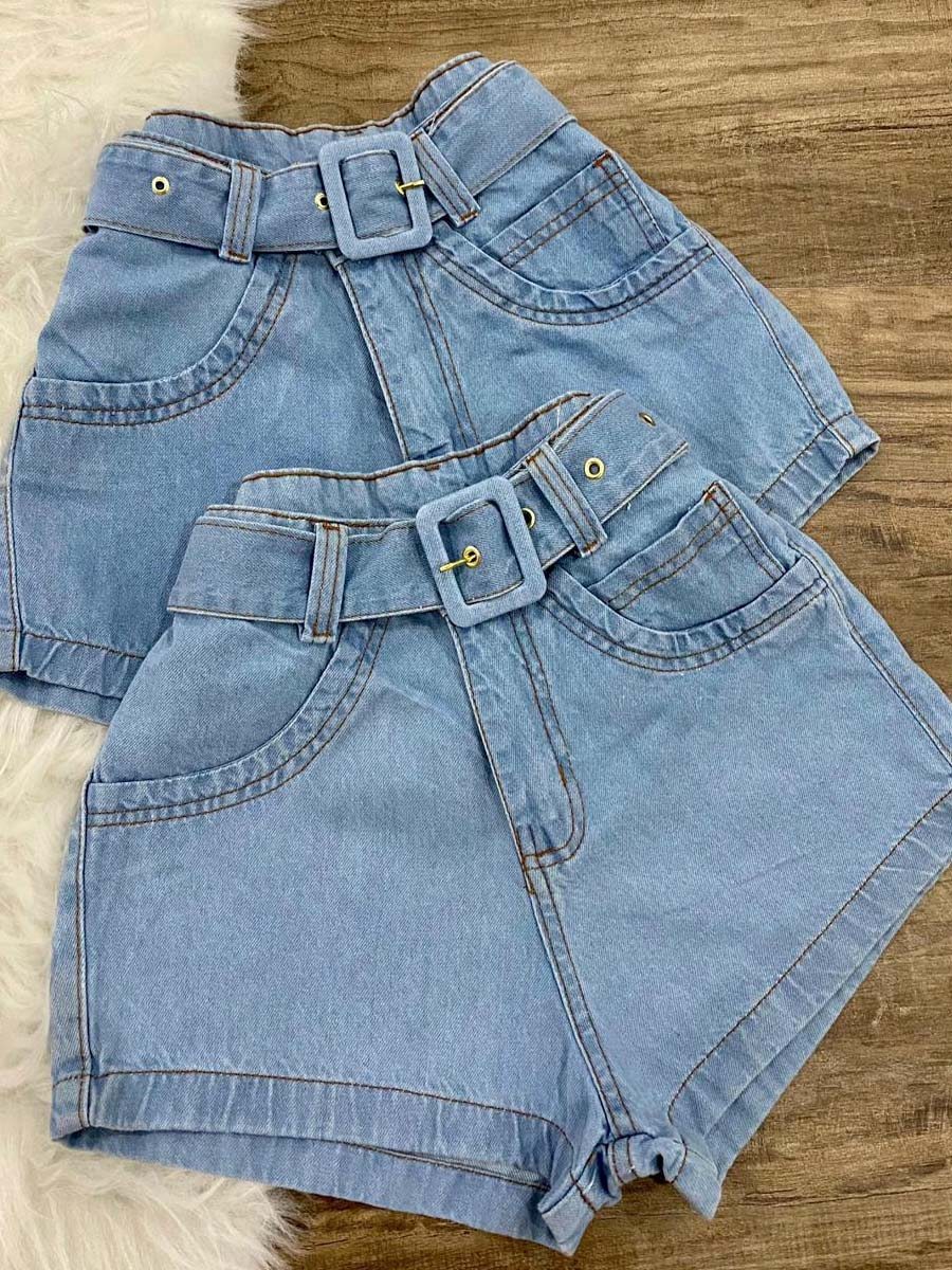 Short Jeans Maluky Fvela Cristal Ilhas