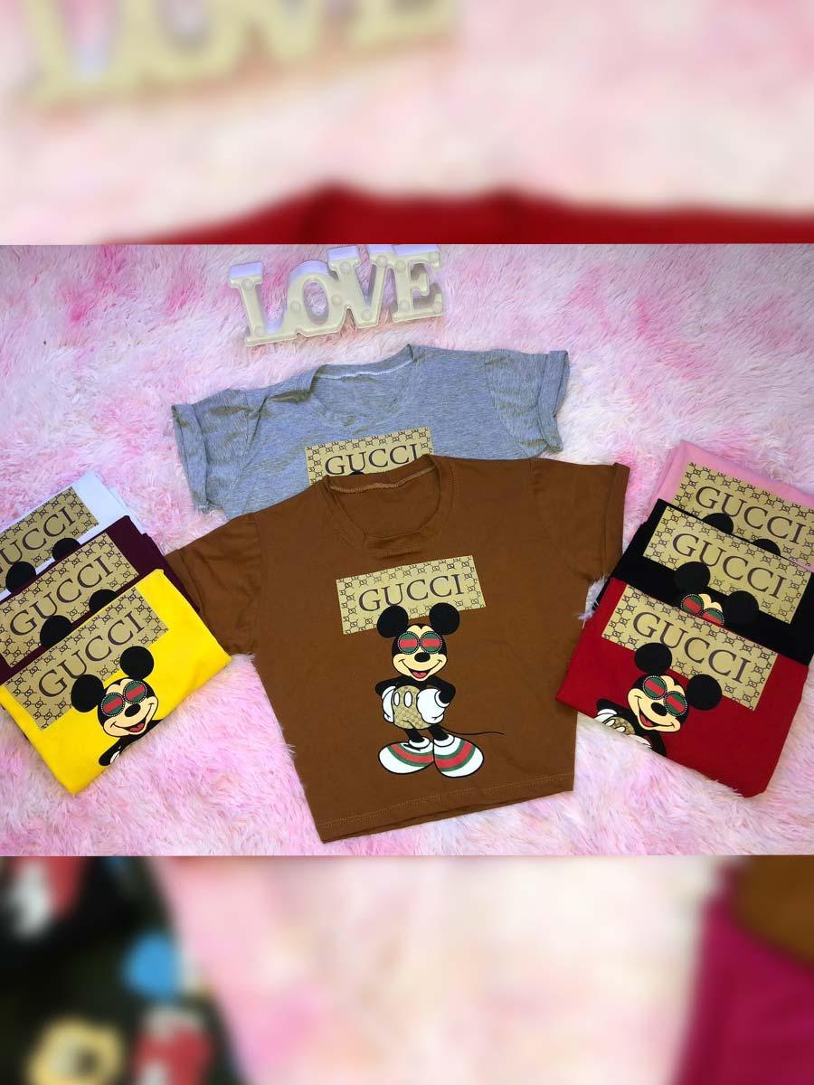 T Shirt Mickey Inverno