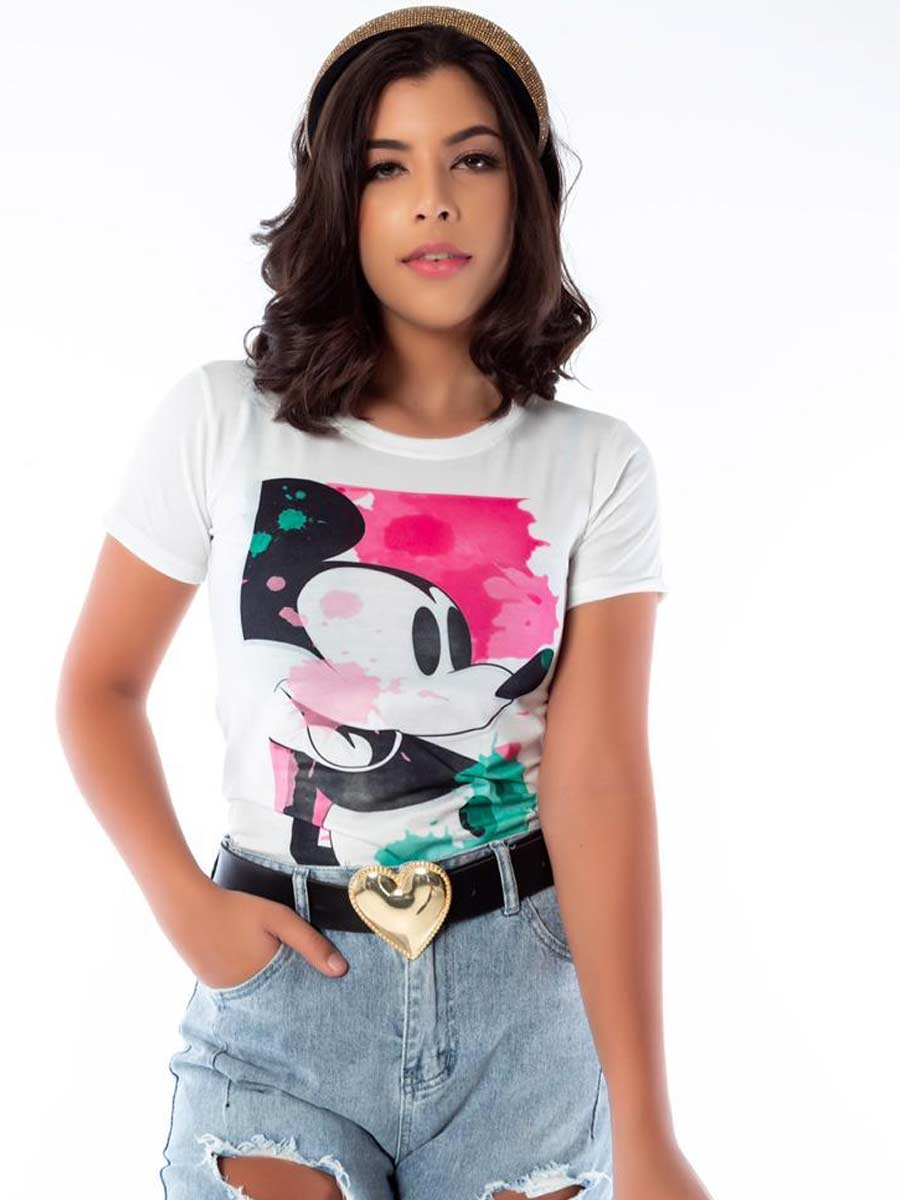 Tshirt Minnie novo