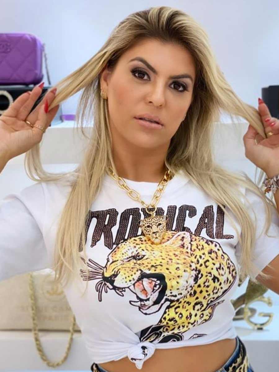 Tshirt Onça Tropical