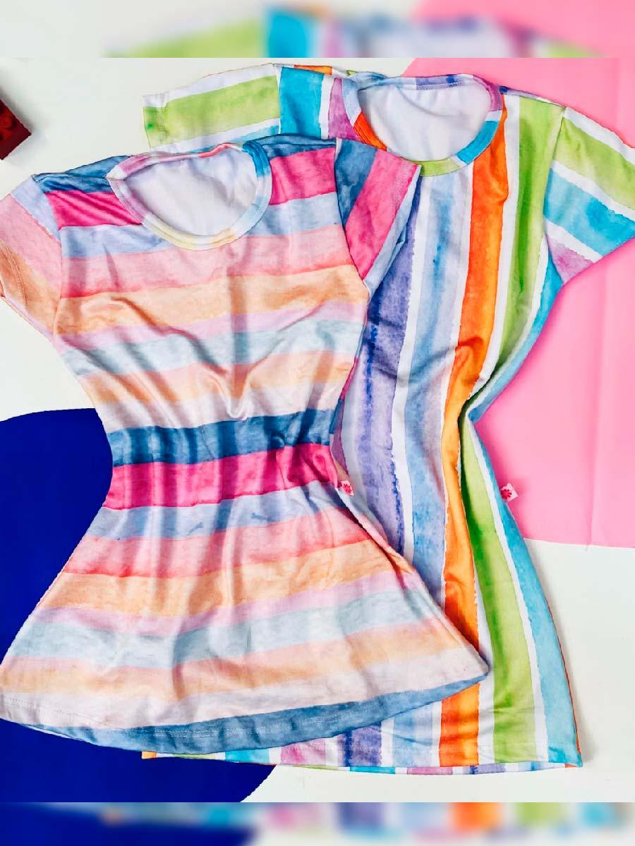 Vestido Baby Arco Iris
