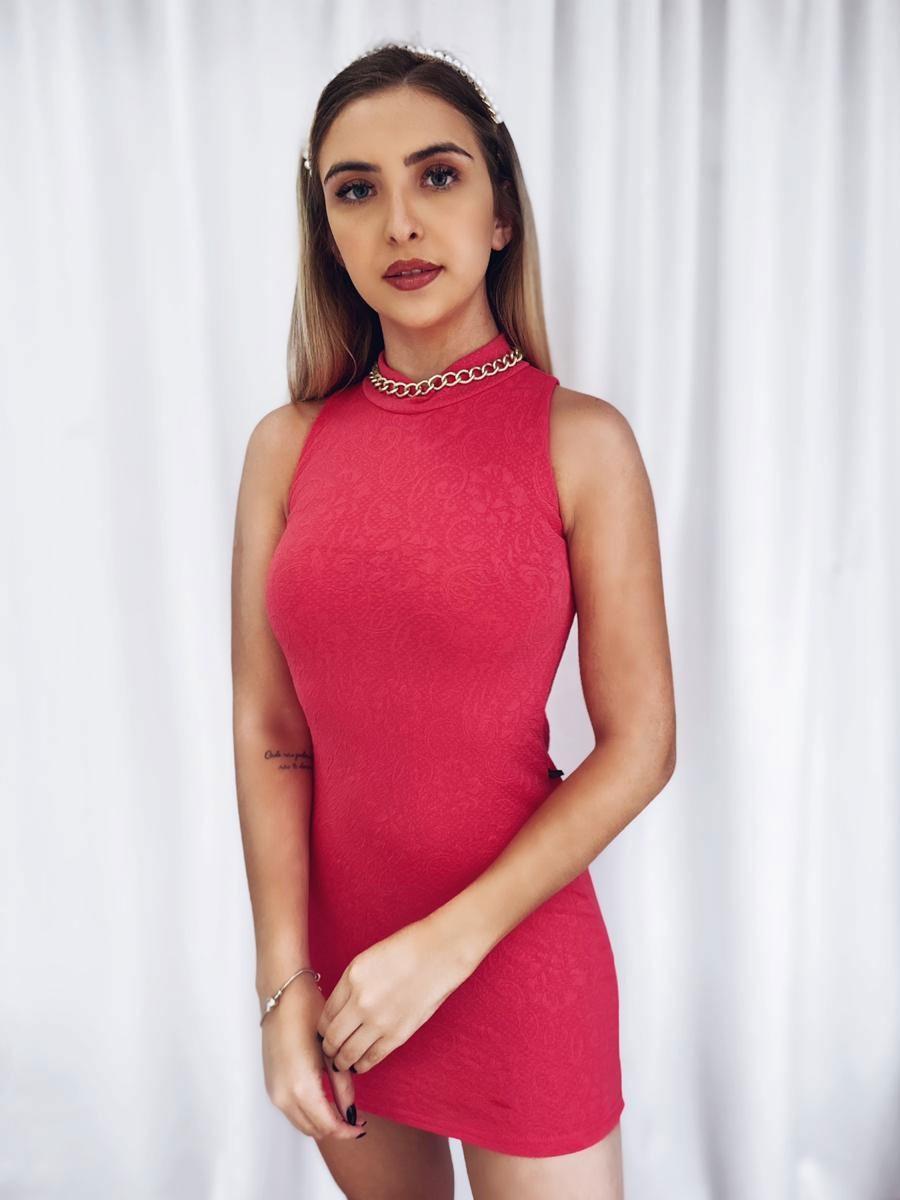 Vestido Gola Jacar