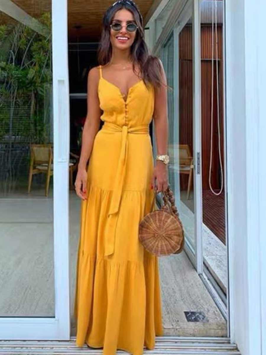 Vestido Mona longo
