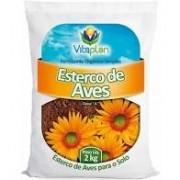 Esterco De Aves 2,0 Kgs Unica