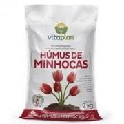 Humus De Minhoca 2,0 Kgs Unica