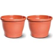 Kit 2 Vasos Romano 04 Ceramica