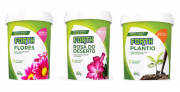 Kit Rosa do Deserto + Forth Flores + Plantio 400g