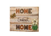 Placa De Parede Home Sweet -  J35