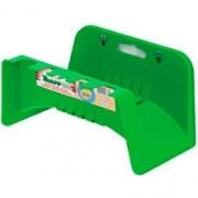 Suporte De Mangueira Plastico Sm-30 Para Parede Verde Com 12 Pecas